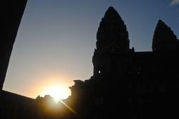 Angkor Wat Silhoutte
