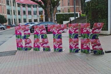 Batik Art at Merdeka Square