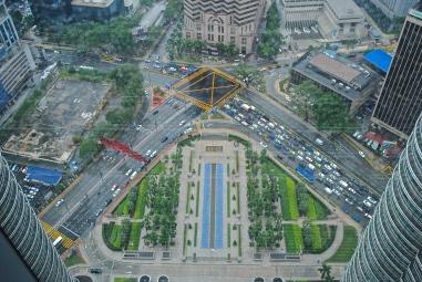 Skycraper from the Petronas Twin Towers