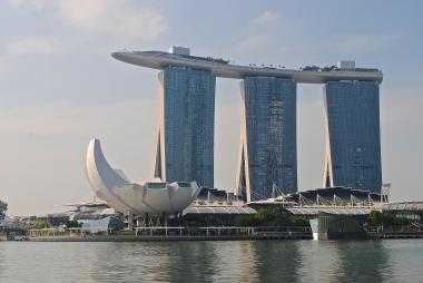 Marina Bay Sands and ArtScience Museum