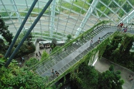 Cloud Forest at Gardens by the Bay