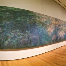 Claude Monet Water Lilies at MoMa